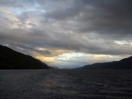 View from the Loch Ness Cruise
