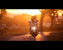 DSC_0070-2 (Nasey) Tags: street sunset people cinema backlight digital nikon bokeh riding malaysia cropped nikkor dslr cinematography cinematic manualfocus ais kualaterengganu d80 chendering impressedbeauty 180mmf28ed nasey nasirali