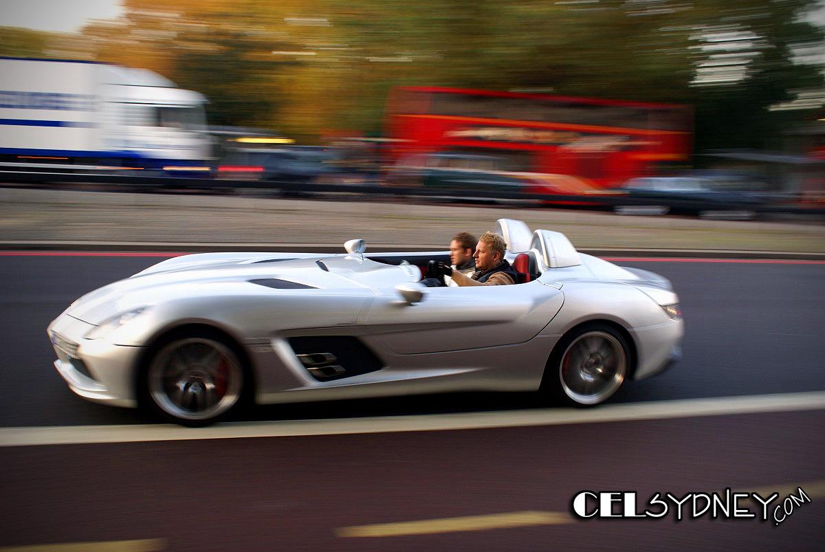 Mercedes SLR Mclaren Stirling