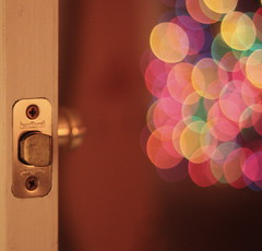 Leave it open (Jazzyblue TR) Tags: door reflection canon handle mirror bokeh plate brass latch 50mmf18 rebelt1i