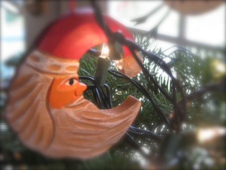 Santa Claus Ornament