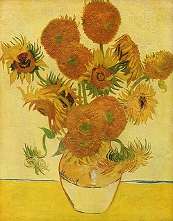 van Gogh-Vase with Fifteen Sunflowers