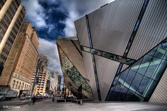 Not dead - just been in Canada...The ROM, Michael Lee-Chin Crystal, Toronto (tokyololas) Tags: toronto architecture clouds vertiginous handheld hdr daniellibeskind bloorstreet contemporaryarchitecture photomatix michaelleechincrystal 3exp therom canon50d tokyololas tokina1116mmf28