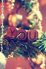 All I want for Christmas is you! {Explored!} (Angie Nan) Tags: christmas tree lights navidad you bokeh fairy alliwantforchristmasitsyou
