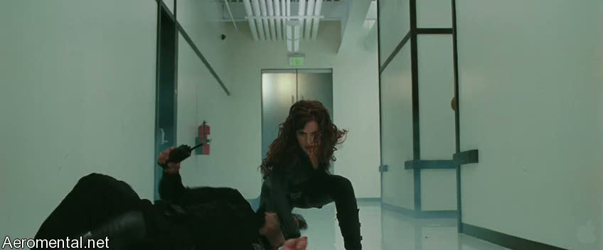 Iron Man 2 Trailer 2 Black Widow fighting