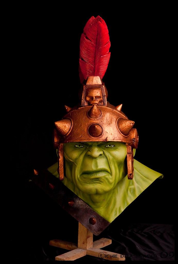 Lançamento - Busto life-size Hulk da Sideshow - Fotos Oficiais 4195769236_9dc7db0e4d_b