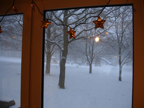 whoo snow!