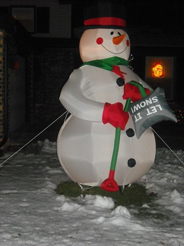 Day 347 - Snowman