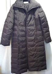 long brown down coat (longyman) Tags: pufferjacket bubblejacket puffajacket puffercoat puffacoat bubblecoat waterproofwastetrashthrownawayrubbishparkapaddednylonjacketnyloncoatnylonlandfilljacketfounddownjacketdowndowncoatdiscardedcoatclothingclothesabandoned