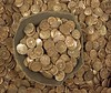 The hoard of Iron Age gold coins