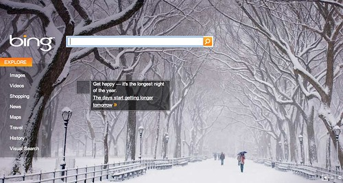 Bing Winter Theme