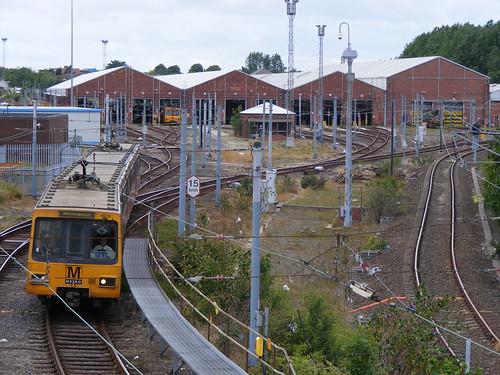 Tyne And Wear Metro. Tyne amp; Wear Metro set 4014 is