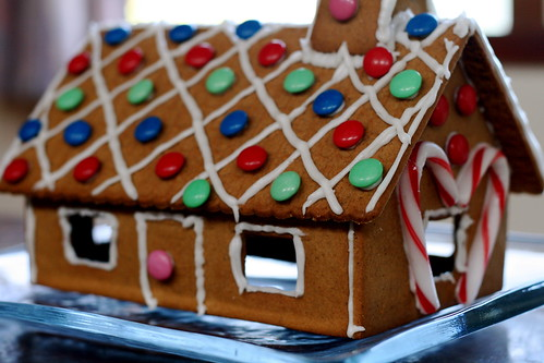 Gingerbread House. Haphazard.