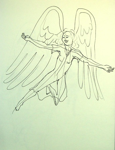 Angel flying