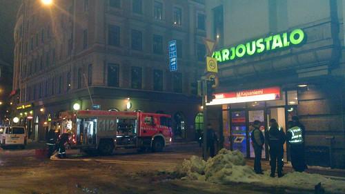 Fire in Tarjoustalo
