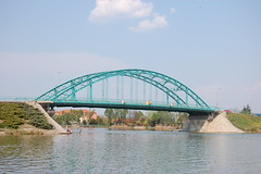 Ráckeve, Árpád Bridge (Istvan) Tags: bridge hungary duna danube donau ráckeve