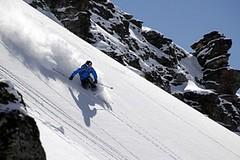 Míša Žítková - video z lyžování na Balkáně