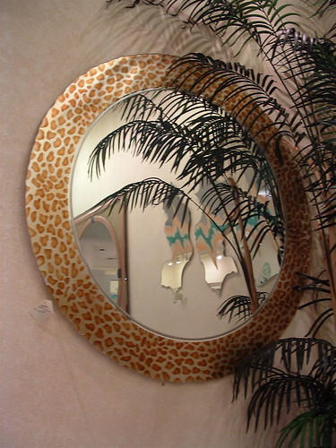 decorative bathroom mirror frames hand carved painted - a photo on ...