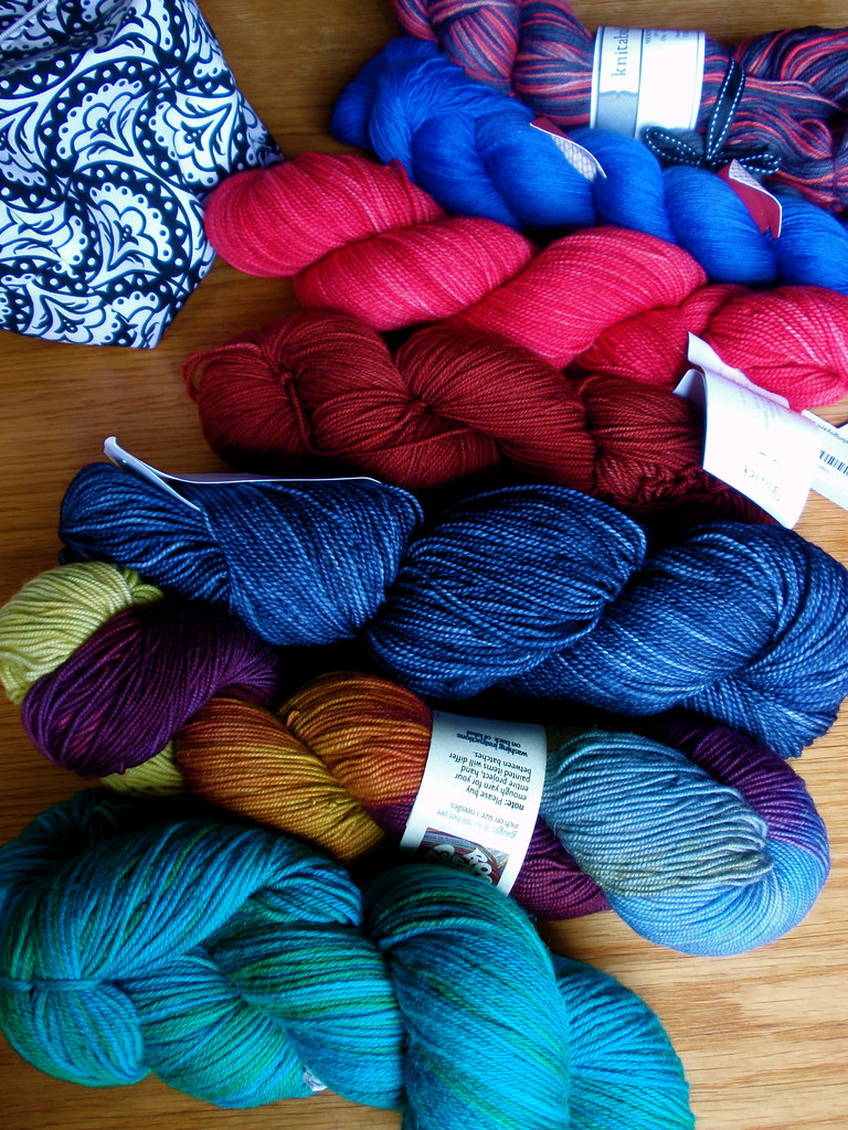 2010 sock yarns