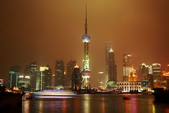 Shanghai - Pudong skyline (cnmark) Tags: world china bridge light tower skyline night creek river garden geotagged noche boat ship suzhou shanghai traffic nacht famous jin scenic center explore trail mao noite pearl   oriental orient pudong grattacielo financial nuit  notte nachtaufnahme huangpu wolkenkratzer   lujiazui rascacielo gratteciel swfc    arranhacu  explored  wusong allrightsreserved   pearloftheorienttower  mygearandmepremium mygearandmebronze mygearandmesilver mygearandmegold geo:lat=31245544 geo:lon=121485824 mygearandmeplatinum mygearandmediamond