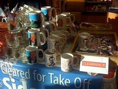 Last minute Xmas shopping at Dulles (anne dunne) Tags: cup coffee airport dulles iad joe souvenir mug barak obama biden
