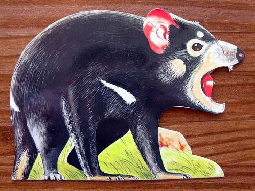 Tasmanian Devil postcard!