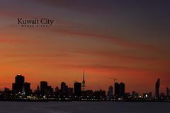 Kuwait City (Hamad Al-meer) Tags: city sunset cloud color tower canon eos kuwait hamad    almeer  hamadhd hamadhdcom wwwhamadhdcom