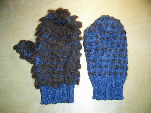 thrummed mittens