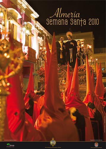 Cartel Semana Santa de Almería 2010