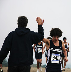 High Five (Matt-Richards) Tags: blue boy man race high crystal five springs 341 bellarmine