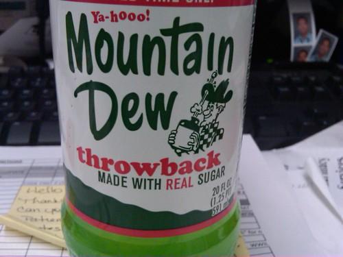 Throwback mountain dew
