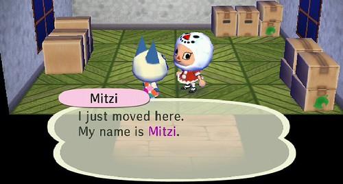 Mitzi is Doomdoom's newest resident