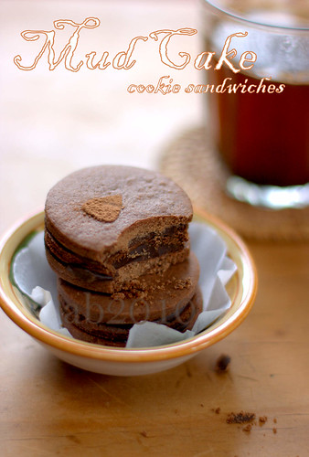 Mud Cake Cookie Sandwiches-3