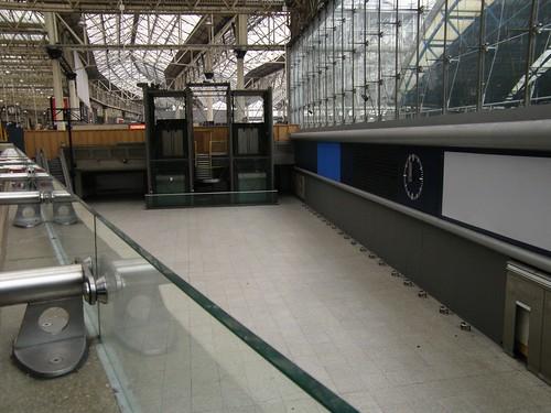 Eurostar terminal abandoned