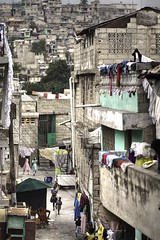 a sliver of Haiti (Andy Kennelly) Tags: houses playing loss kids haiti earthquake falling dirt help laundry disaster quake need sliver caribbean sos crumble assistance stacked rubble portauprince leveled