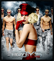 Lady Gaga - Boys boys boys (netmen!) Tags: boys monster lady ball tour fame gaga blend the netmen