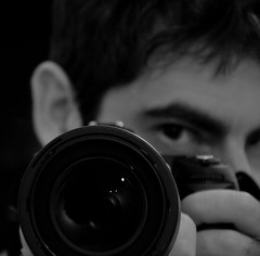 self-portrait (A) Tags: bw selfportrait reflection nikon depthoffield autoritratto biancoenero pdc riflesso d90 profonditdicampo nikond90