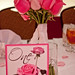 "Pink Rose Wedding Table Number - Customer Photo <a style=""margin-left:10px; font-size:0.8em;"" href=""http://www.flickr.com/photos/37714476@N03/4276901142/"" target=""_blank"">@flickr</a>"
