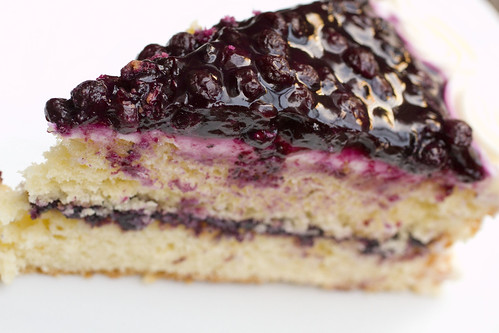 Blueberry Coconut Layer Cake 4