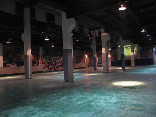 Warehouse Skating in UB