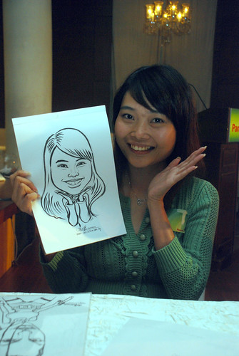 Caricature live sketching for GSK - 1a