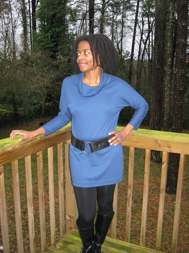Cowl Tunic B5247 w/belt