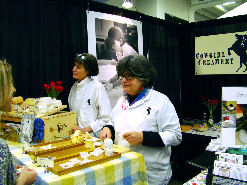 DSC04333 Cowgirl Creamery booth