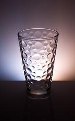glass bubble tumbler strobist