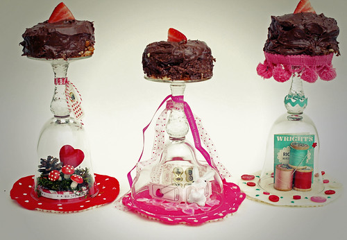 Glass Dessert Stands