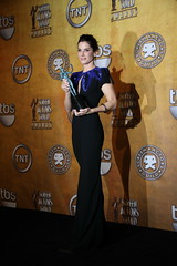 Sandra Bullock, winner of the 2010 SAG award for Outstanding Performance by a Female Actor in a Leading Role (djtomdog) Tags: actors sandrabullock screen guild sag blindside tvjunkie thomasattilalewis outstandingperformancebyafemaleactorinaleadingrole leighannetuohy