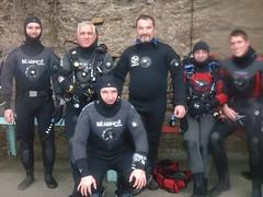 les z'étancheux (PhilR66) Tags: me eric dive diving formation fabrice marc scubadiving philippe laurent plongée abyss lagraule étanche abyssplongée philippem