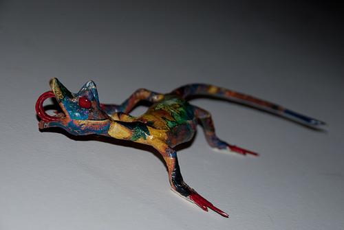 Day #25 - Paper lizard
