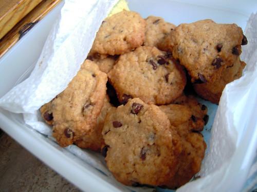 biscottini al cioccolato e caffe
