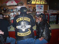Patched Up and Chilled Out (THMC) Tags: club motorcycle patch rider